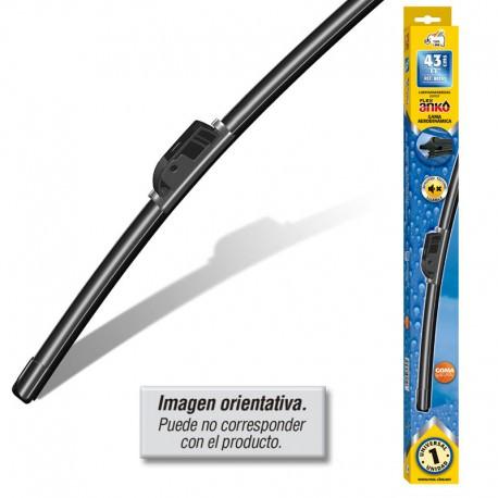 Escobilla limpiaparabrisas 43 cm flexible