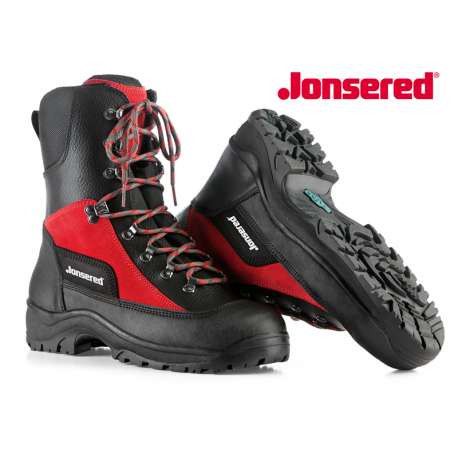 Bota anticorte de cuero BASIC JONSERED