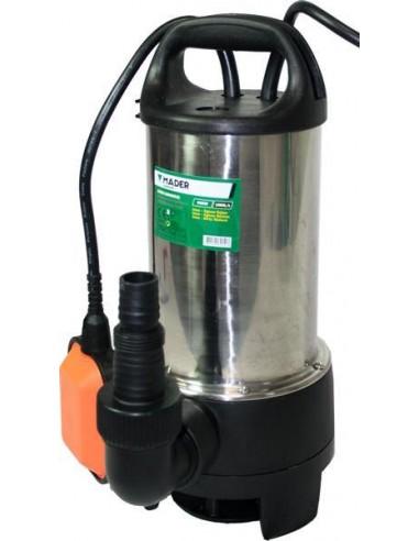Bomba sumergible inox. 900W 13500 L/h
